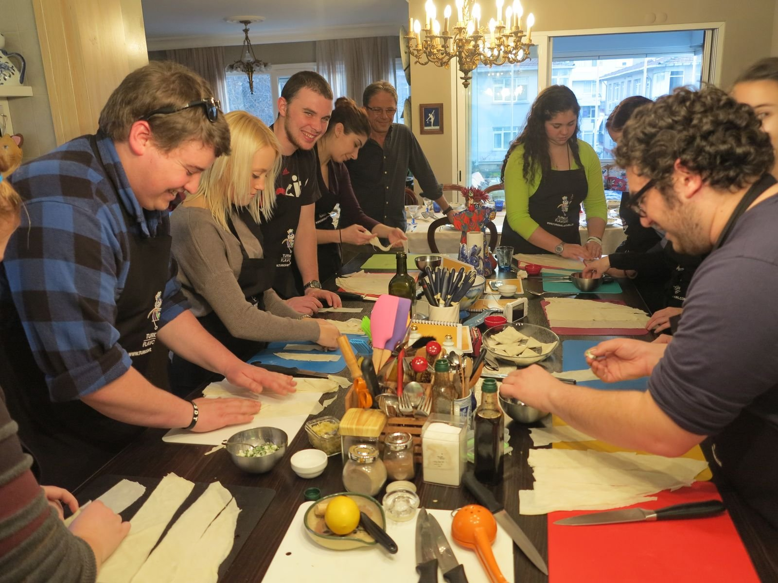 SPICE TASTING &TURKISH COOKING CLASS