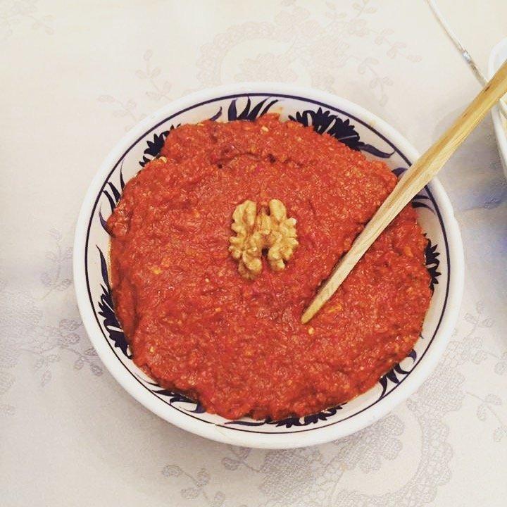 Turkish Recipes > Muhammara