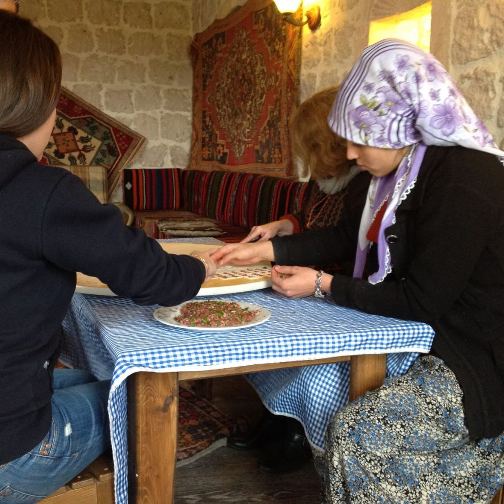 CAPPADOCIA Village Home Cooking Experience Meal Preperation 3