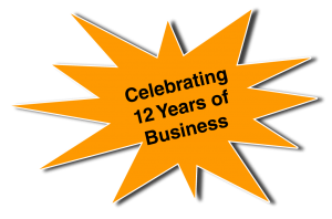 Celebrating 12 Years of Business